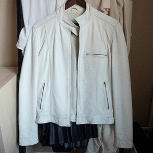 Express 100% genuine leather jacket